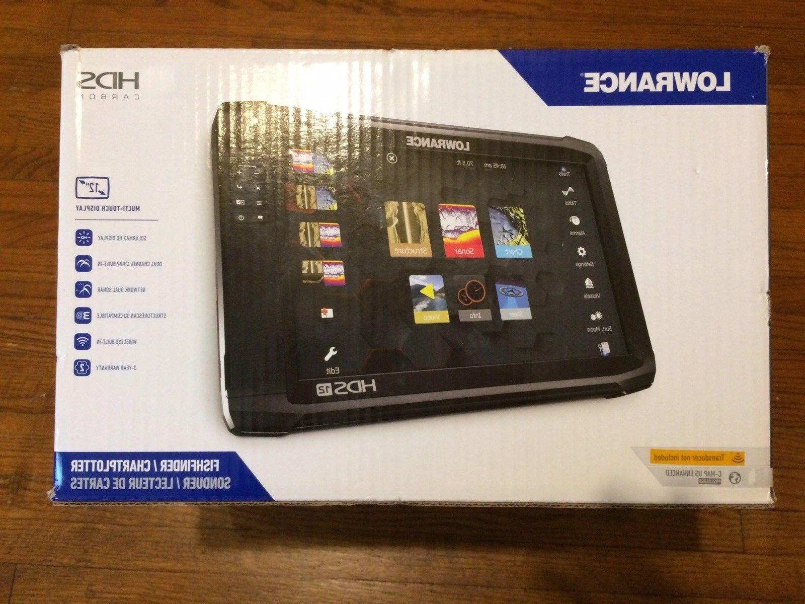 Lowrance Touchscreen Fishfinder C-map HD Pro