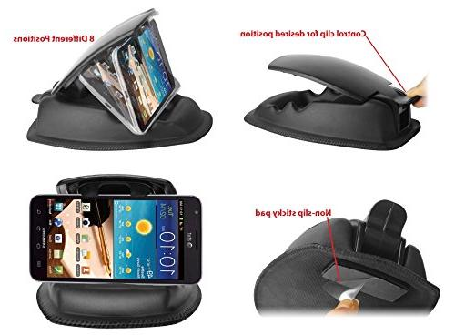 ChargerCity Hippo Series NonSlip Dashboard Beanbag Friction Mount for Nuvi, TomTom, Via other 4-6 GPS and