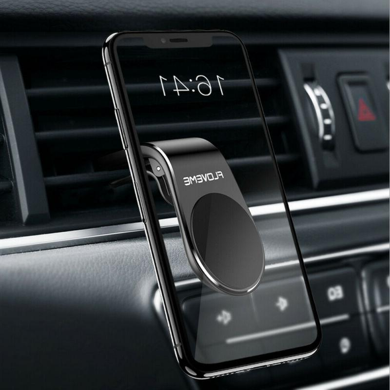 Magnetic Car Phone Holder Stand iPhone Samsung Magnet Mount