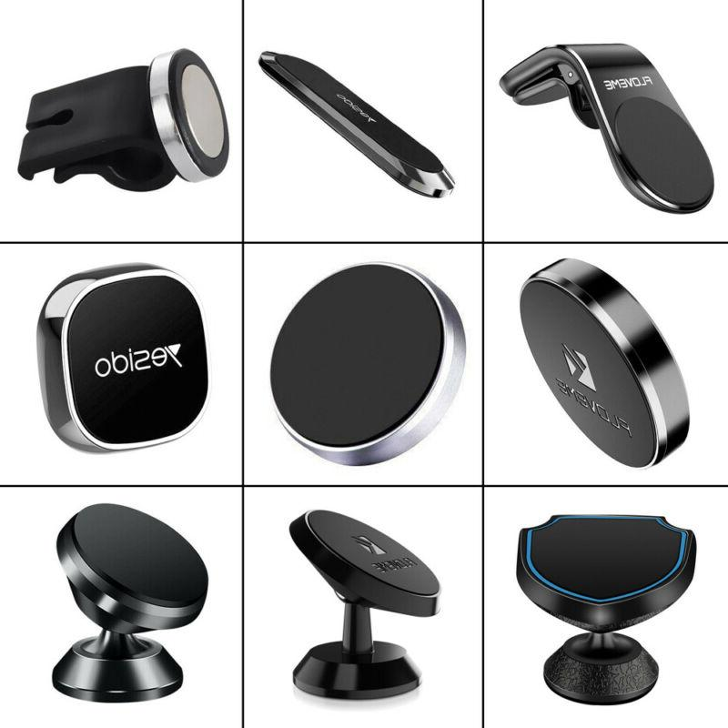 magnetic car gps phone holder stand