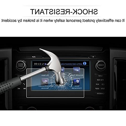 LFOTPP NissanConnect Inch Navigation Protector, Glass Infotainment Screen Protector Anti Scratch High Clarity