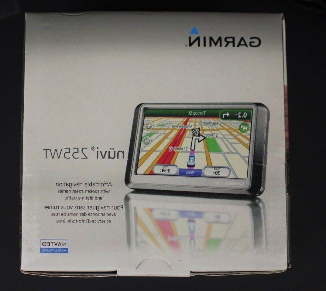 Garmin Nuvi 255W GPS! COMPLETE Bundle With NEW