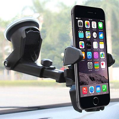 phone gps black holder universal car auto