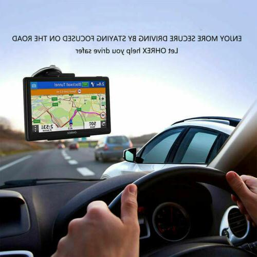 Semi Commercial Driver Navigation System