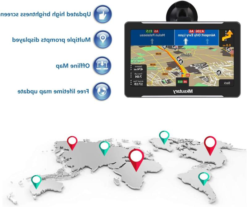 Semi Truck Commercial Driver Navigation System