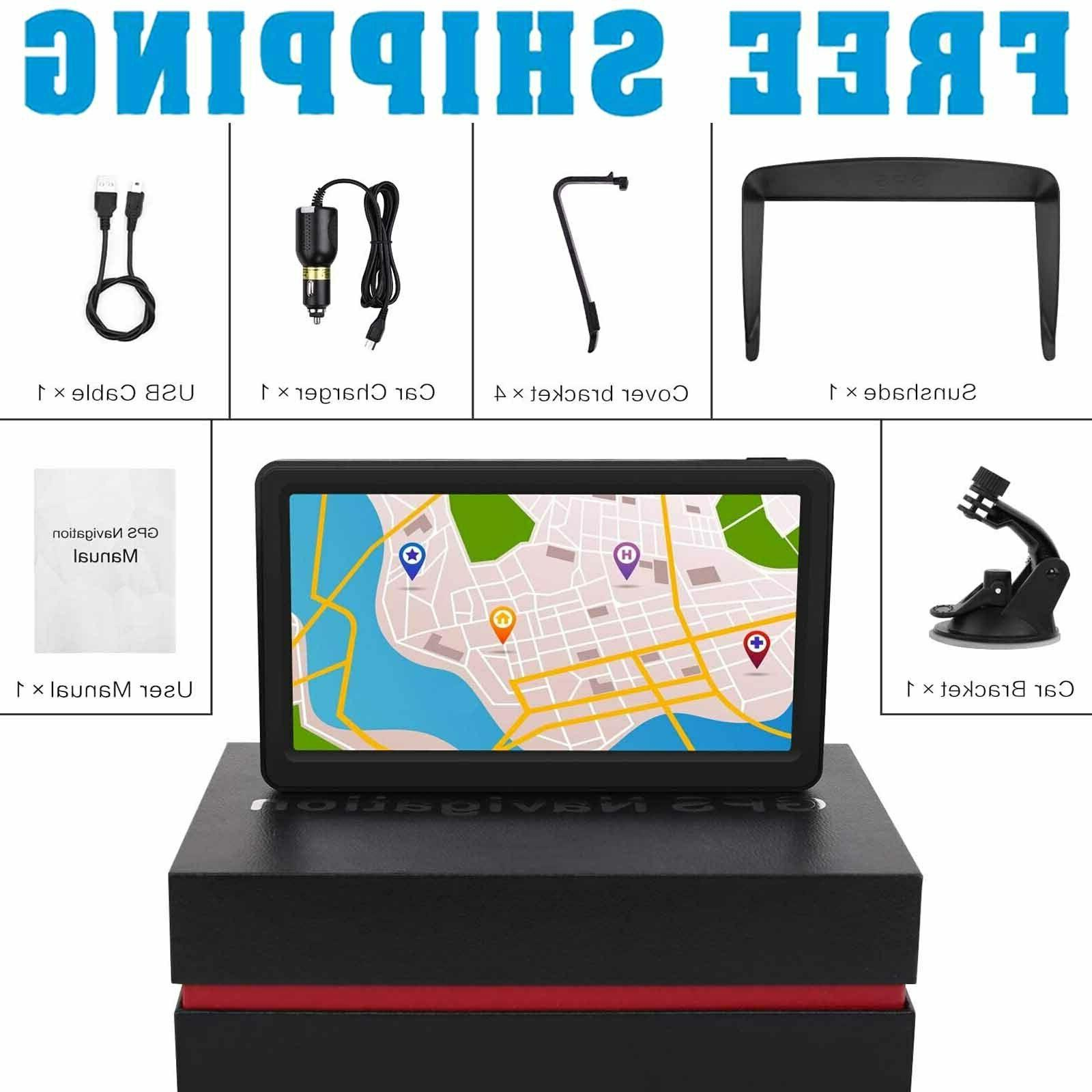 Semi Truck Gps Commercial Driver Navigation System 7