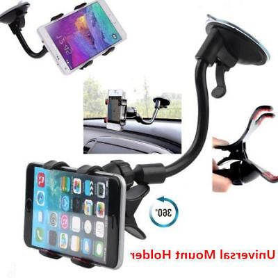Universal 360° Car AUTO ACCESSORIES Rotating Phone Windshie