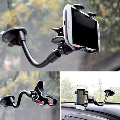 universal 360car auto accessories rotating phone windshield