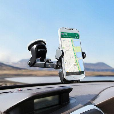 Universal Accessories Rotating Windshield Mount GPS Holder