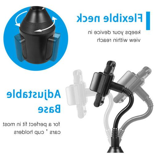 Universal Cup Mount Accessories 360° Adjustable Mobile GPS