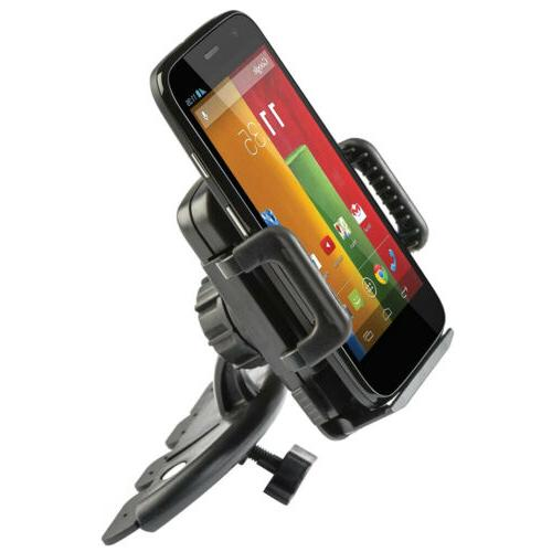 Universal Slot Mount Holder Car for Smart phone iPod