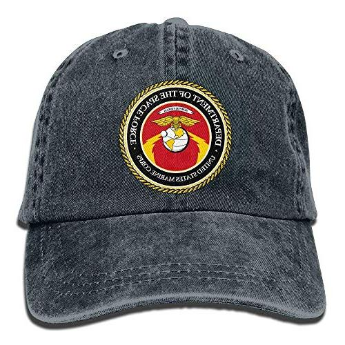 us space force marine corps dad hat