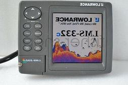 Lowrance LMS-332C GPS Fishfinder (Only head & Protective c,n