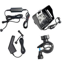 """Motorcycle GPS Cradle Charger Bracket Accessories For 4.3"""" B"""