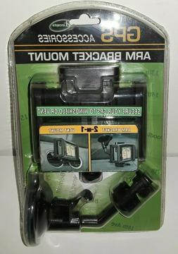 New In Pkg. GPS Accessories Arm Bracket Mount.Secures To Win