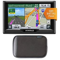 Garmin nuvi 57LM 5 Essential Series 2015 GPS with Lifetime M