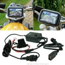 satnav gps powered motorcycle mount