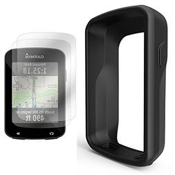 TUSITA Silicone Case + Screen Protector For Garmin Edge