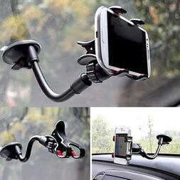 Universal 360°Car AUTO ACCESSORIES Rotating Phone Windshiel