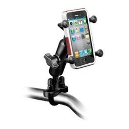 RAM Mount Universal X-Grip Holder Handlebar Rail Mount